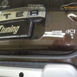 """Накладка на задний бампер для Рено Дастер рестайлинг с 2015 г.в. (Защита №1М """"КАРТ"""" )"""