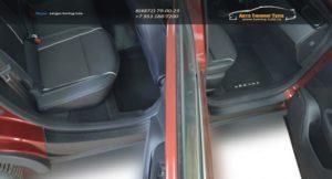 """Накладки в проемы (передних и задних) дверей """"КАРТ"""" для Renault Arkana / Рено Аркана 2019, 2020 /арт.861"""
